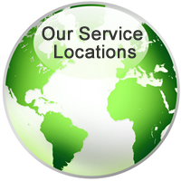 Our service locations